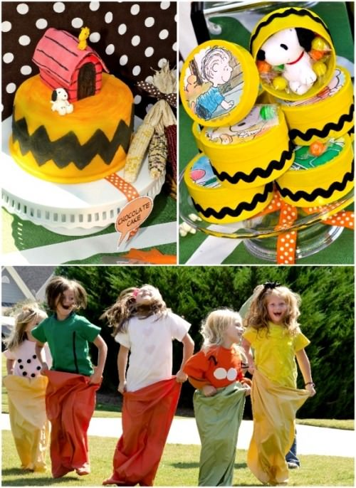 Charlie Brown Birthday Party