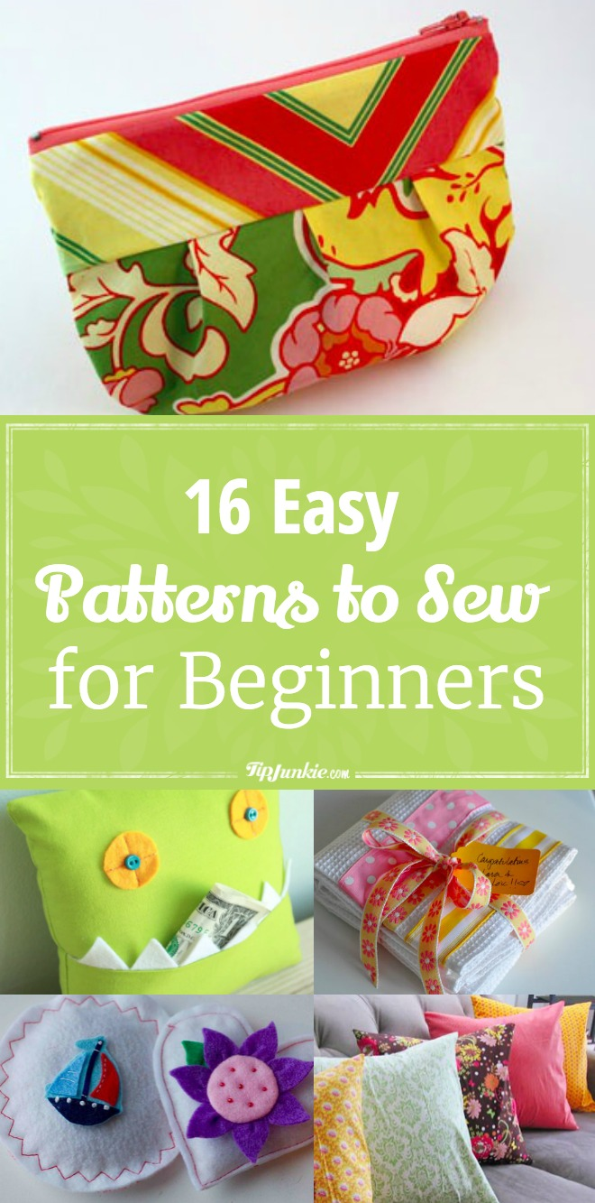 16 Easy Patterns to Sew for Beginners