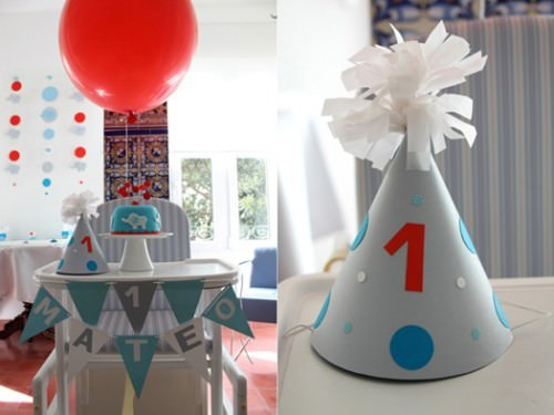 Adorable Elephant 1st Birthday Party