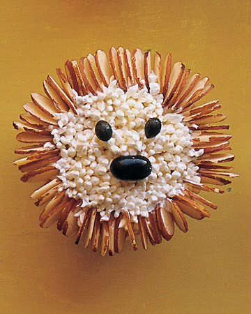 Hedgehog Cupcake Recipe
