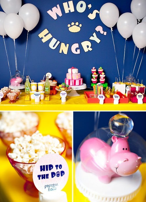 Hungry, Hungry Hippo Game Birthday Party