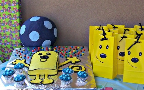Wow Wow Wubbzy Birthday Party