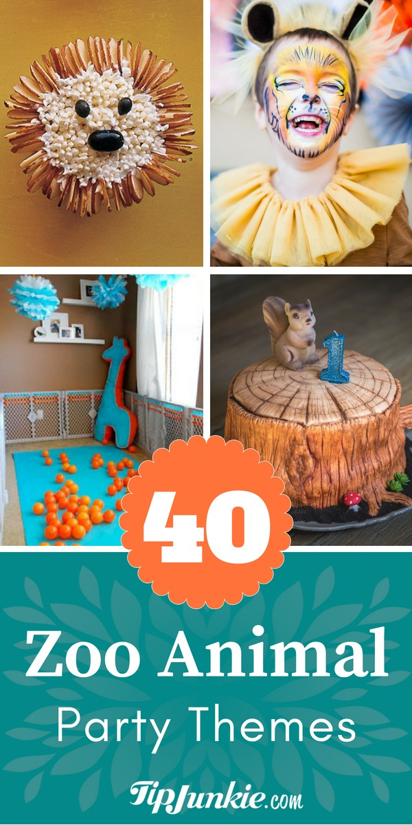 43 Creative Zoo Animal Birthday Party Theme Ideas