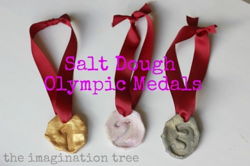 How To Make Salt Dough Olympic Medals