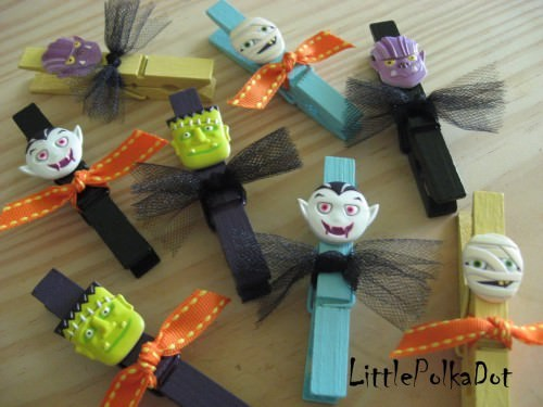 Halloween Clothespins Dolls {Easy To Make}