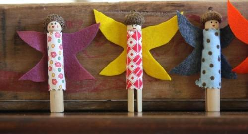 How to Make Clothespin Dolls and fairies