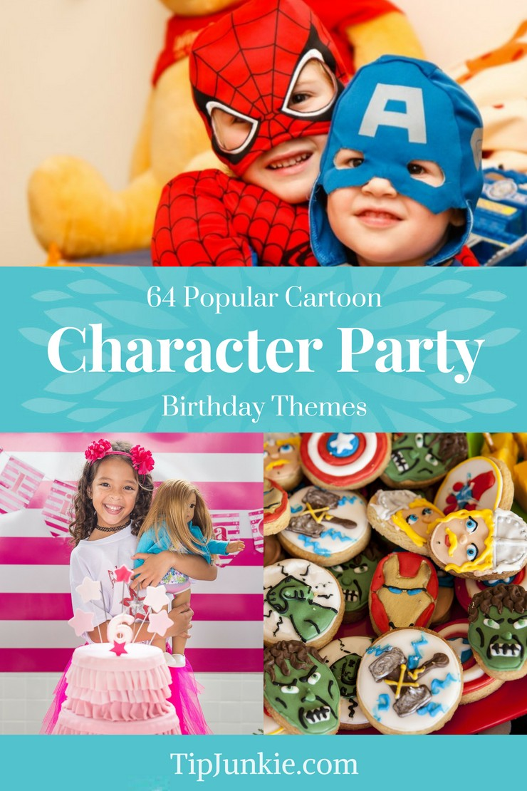 Holy smokes!  These are the best birthday party themes from PBS Kids, Nick Jr, and other characters on TV shows.