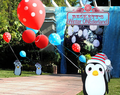 Winter Wonderland Penguin Party