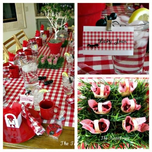 Ant Picnic Birthday Party Decor