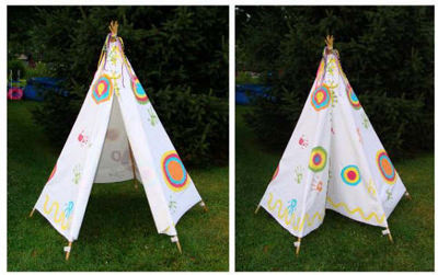 How To Make A Child's Tent