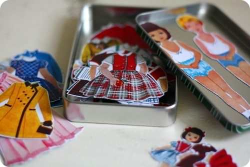 How To Make Magnetic Paper Dolls