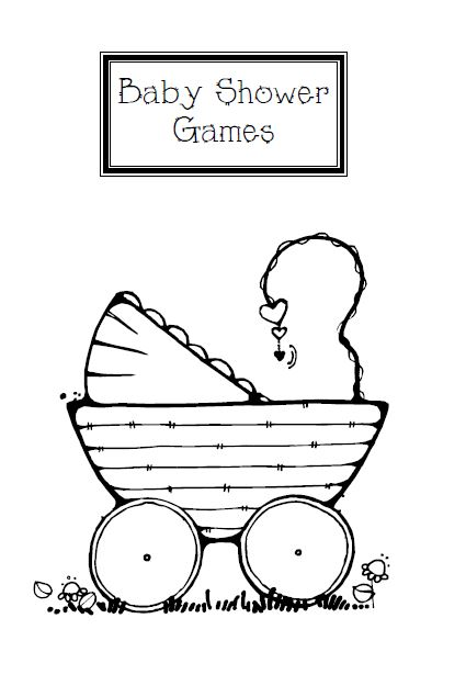 baby shower game templates