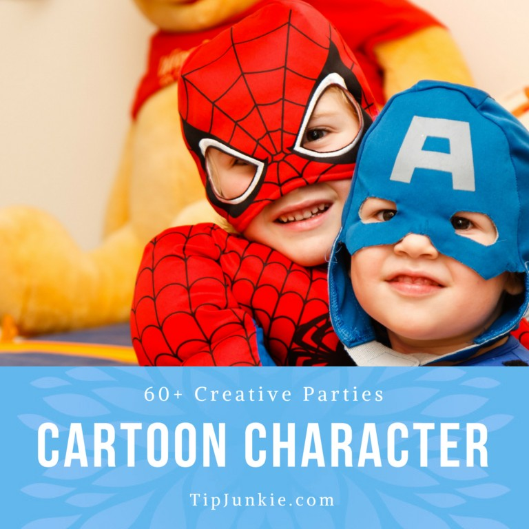 Popular Cartoon Character Party Themes for Kids on Tip Junkie