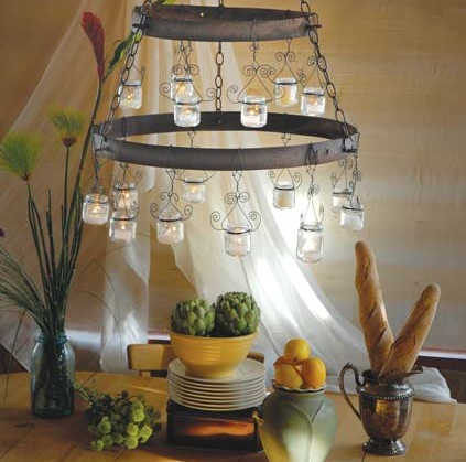 Baby Food Chandelier for inside