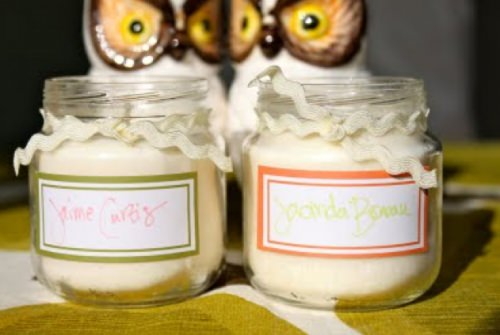 Soy Candle baby jars