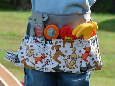 Children's Fabric Tool Belt Tutorial