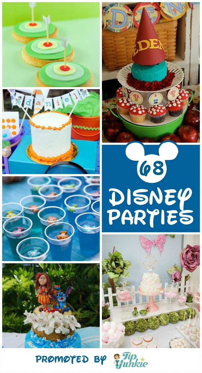 68 Disney Movie Inspired Kid Parties Wow Tip Junkie