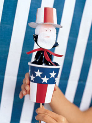 Uncle Sam Hand Puppet