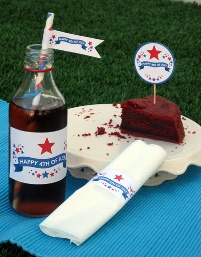 Free 4th of July Party Printables