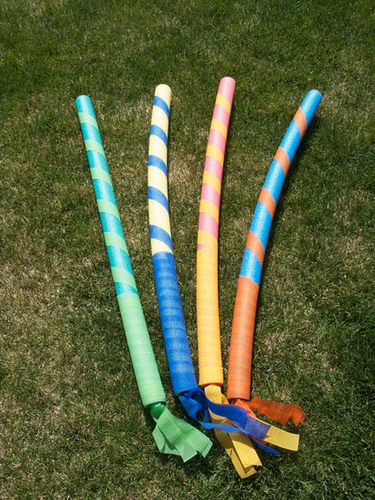 How To Make Pool Noodle Lances
