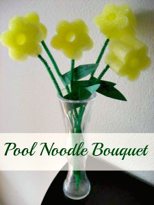 Pool Noodle Bouquet