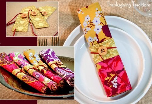 Cloth Napkins and Napkin Rings