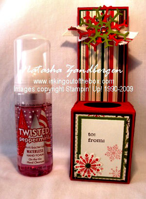 Hand Sanitizing Bottle Box Tutorial