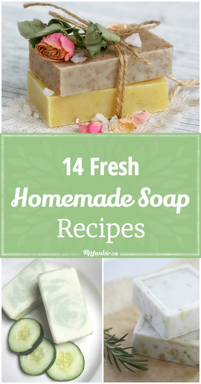 14 Fresh Homemade Soap Recipes
