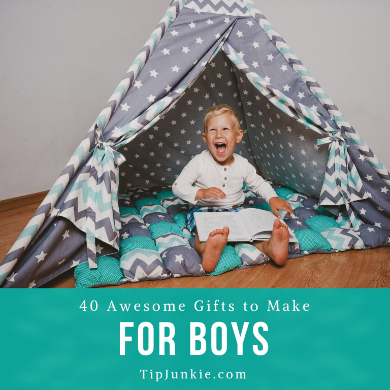 40 Awesome Gifts to Make for Boys