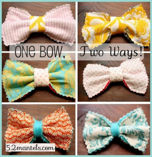 Present for Christmas like Reversible Hair Bows