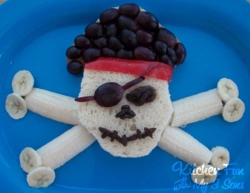 Pirate Lunch Recipe Crafts with Food