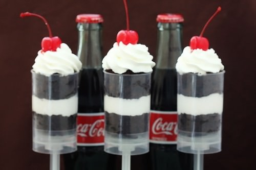 Coke Float Push Pops Recipe