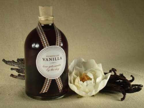 Homemade Vanilla Favor