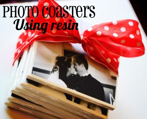 Photo Tile Coasters {Personalized Gifts}
