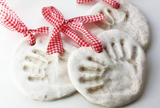 Salt Dough Hand Prints