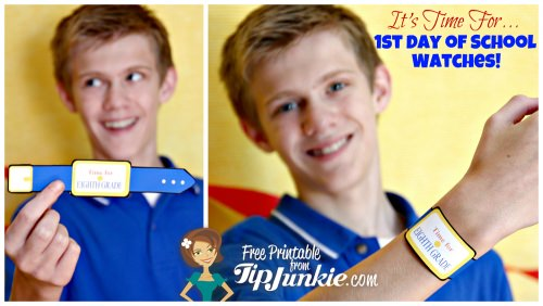 Back to school photo props free printable