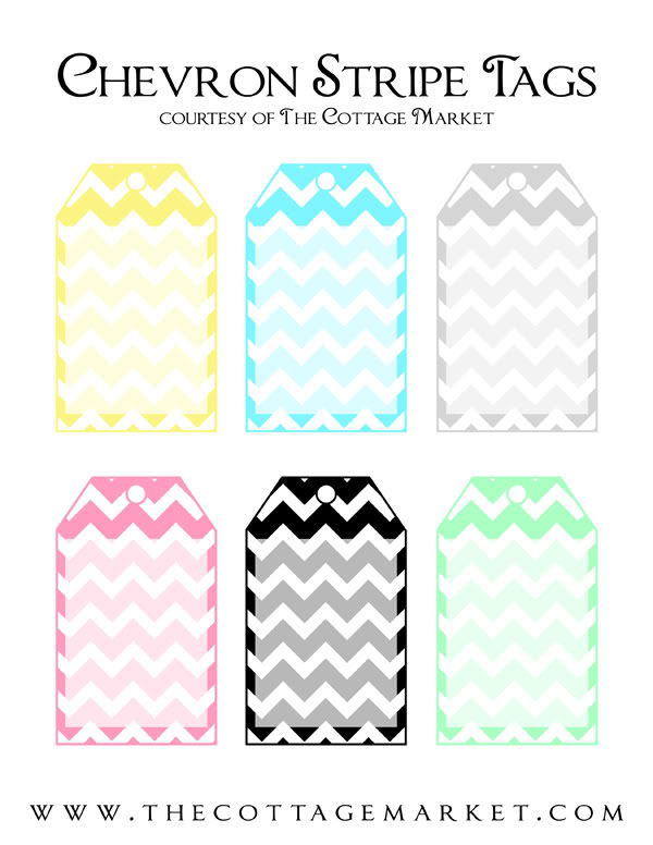 14 gift tags template tip junkie printable chevron gift tags these chevron gift tags are perfect for any occasion birthdays baby showers bridal showers or just because negle Images