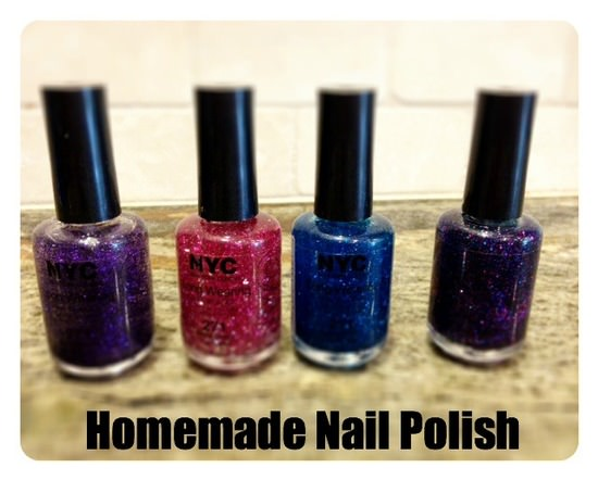 Home to Make Homemade Nail Polish