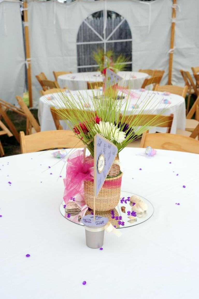 Diy beach wedding centerpieces tip junkie