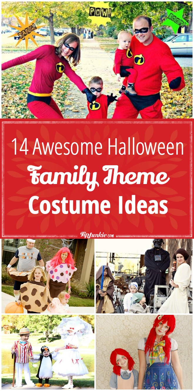 14 Awesome Halloween Family Theme Costume Ideas