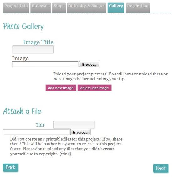 Tip Junkie Photo Gallery and Attach a File