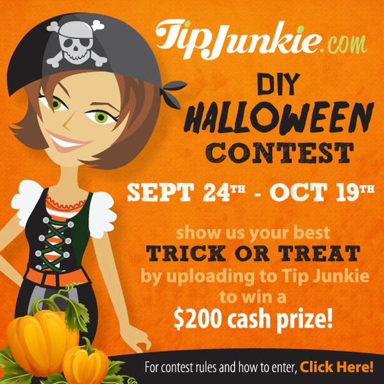 Tip Junkie's DIY Halloween Contest ~ Win a $100!