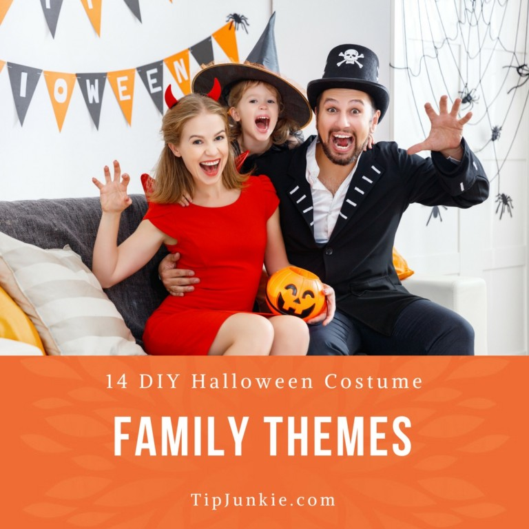 Homemade Halloween Family Costume Ideas
