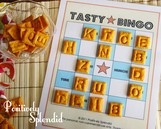 Tasty Bing {free printable}