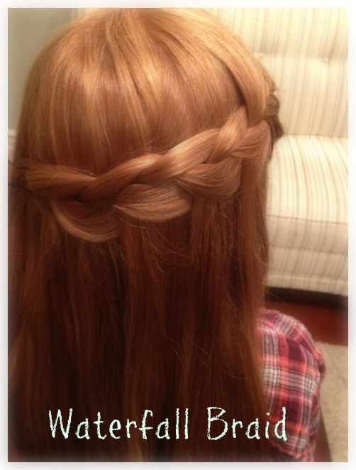 How to Make a Waterfall Braid