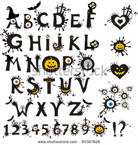 32 Free Halloween Fonts for Crafts | Tip Junkie