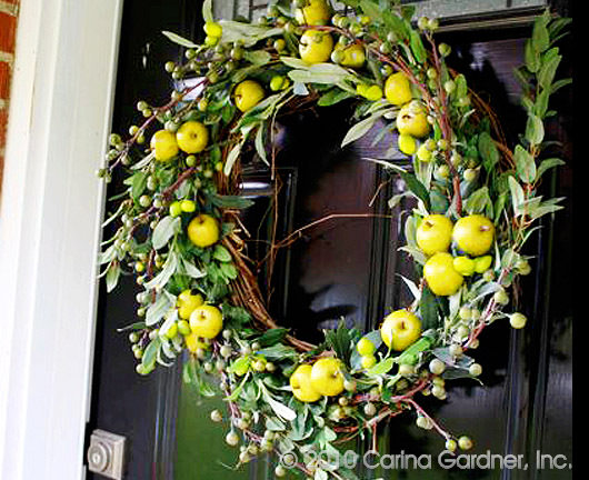 DIY Olive Wreath