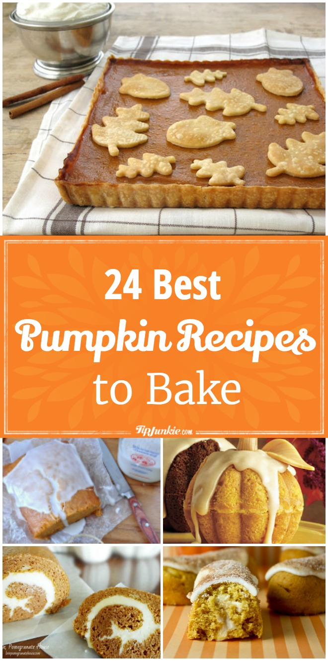 24 Mouth-wateringly delicious pumpkin recipes to bake this Fall that your family will love!