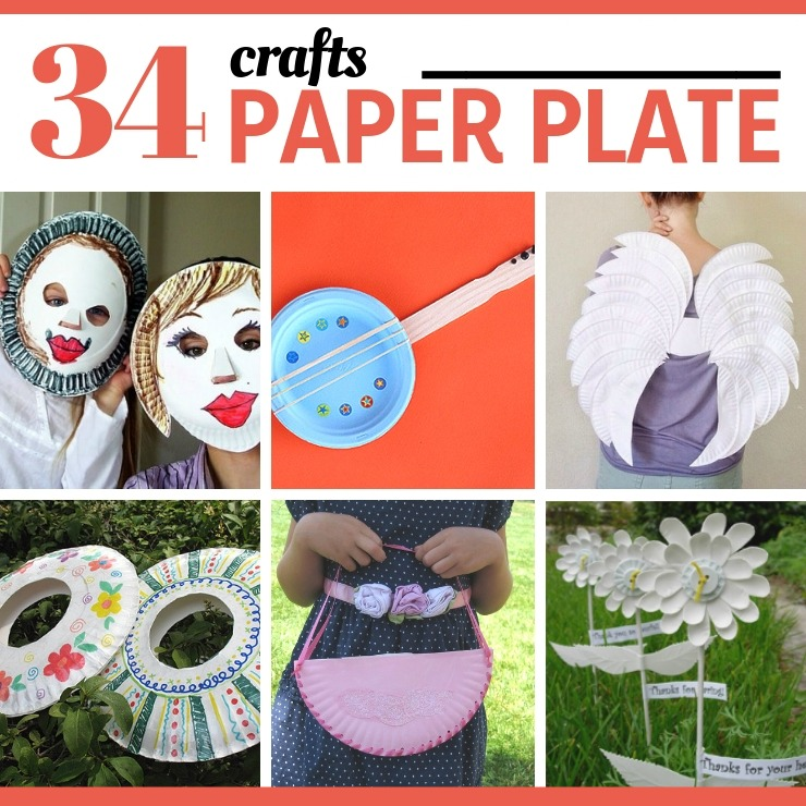 34 Amazing Paper Plate Crafts on Tip Junkie