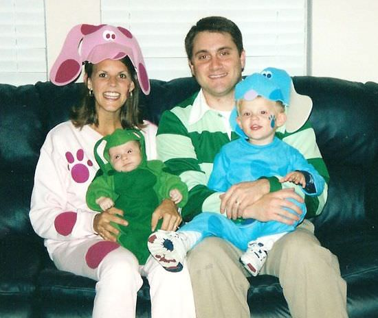 Family Blues Clues Halloween Costume